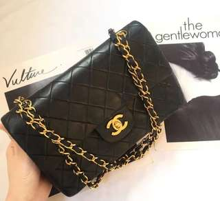 Chanel Lambskin Vintage Flap