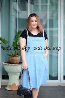 Overall skirt for plus size