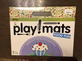 兒童繪畫餐墊紙 食物篇