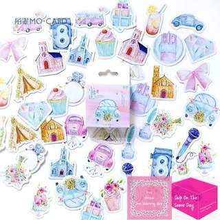 Set of 45pcs Barbie Dream World Sticker Pack