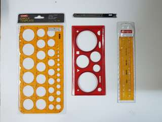 Drafting Tools for Engineering Architecture & Interior Design