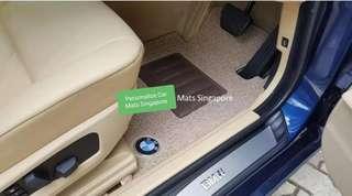 BMW 520 F10. Car mats. Car carpets. Coil mats.