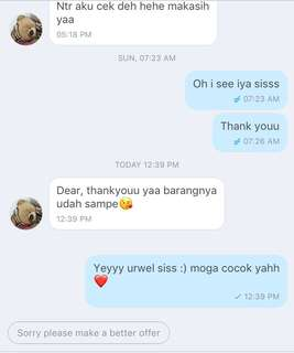 Yeyy, thanks for the order!! ❤️❤️