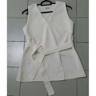 (BN) White office blouse