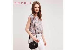 New! Esprit Faux Leather Small Shoulder Bag  人造皮手袋 👜👱🏻♀️👩🏼