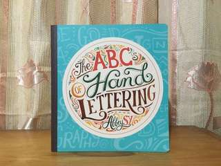 (Preloved) The ABCs of Hand Lettering