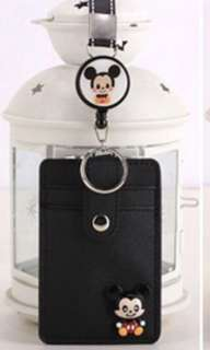 Retractable Mickey Mouse Lanyard