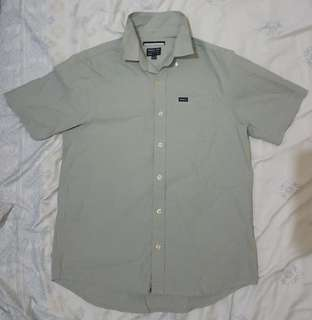 RVCA Polo Grey Small(Large Boys on tag fit to Small)