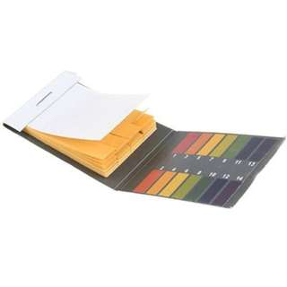 80 Strips Litmus Paper Range 1-14 Test Alkaline Acid PH Indicator Practical B99U
