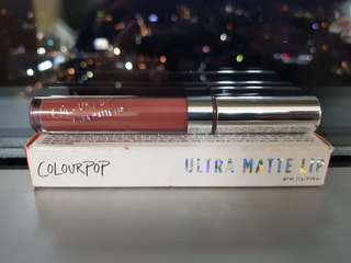 Colourpop Ultra Matte Lip in Teeny Tiny