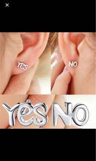 Earrings yes no