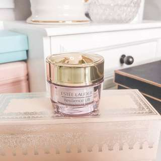 ⭐️ Estee lauder resilience lift firming / sculpting face & neck creme • authentic skincare cream 15ml