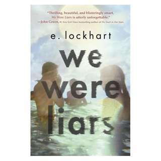 WE WERE LIARS (E. LOCKHART)