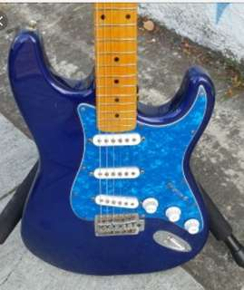 Blue pearl Stratocaster strat sss pickguard pick guard scratch plate for Fender Squire guitars