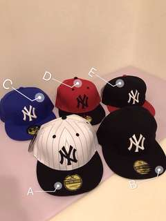 🚚 棒球帽 平沿棒球帽 大聯盟 MLB NY