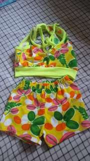 Two-piece for baby