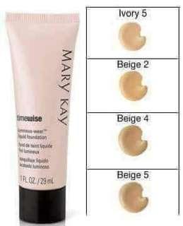 timewise luminous-wear liquid foundation