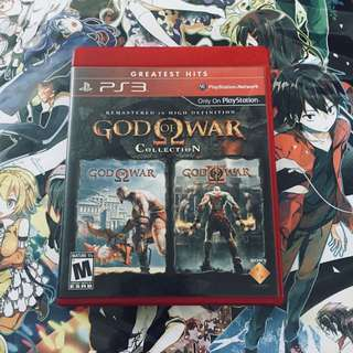 PS3 God of War Collection 1&2