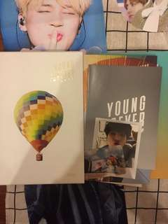 Bts youngforever album taiwan ver limited