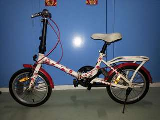 Good condition 16 inch foldable bike for sale