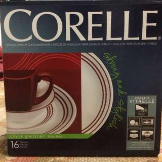 Corelle Bulat - Red Ruby