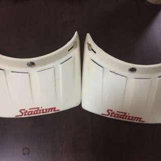 Stadium helmet cap/ visor