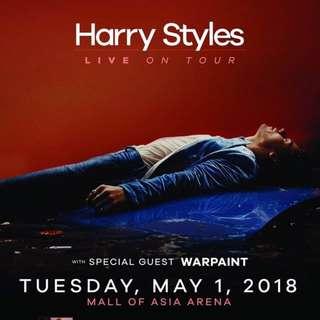 (1) Harry Styles live in Manila PLATINUM ticket