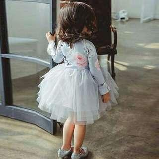 toddler tulle princess dress