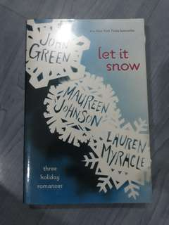 Let It Snow by John Green