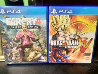 ps4 games slightly used