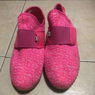 Pink light up shoes