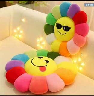Sunny pillow