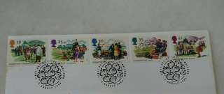 GB UK England Summertime Stamps & Special Postage #2