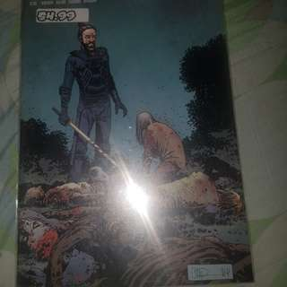 The walking dead comic series