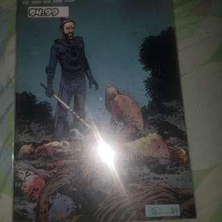 The walking dead comic series