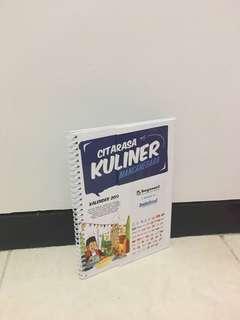kalender + buku resep