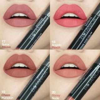 Lipstick mineral botanica