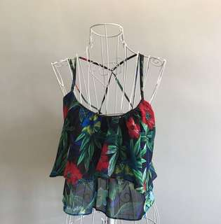 Floral Tropical Tank