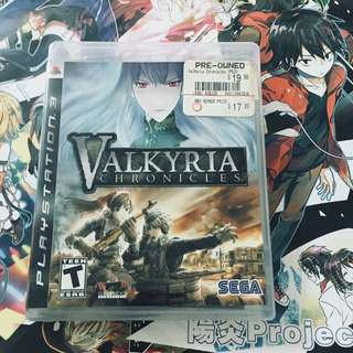 PS3 Valkyria Chronicles