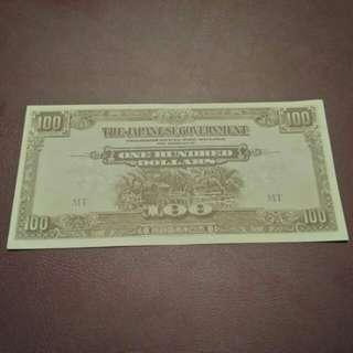 100 dollars JIM