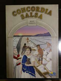 Concordia Salsa Expansion for Board Game