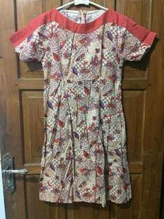 Dress Batik Keris