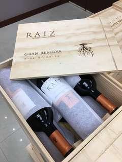 智利頂級紅酒一箱6支