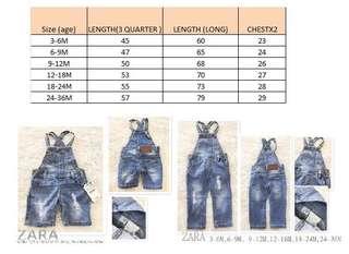 Overall Zara