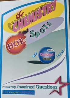 Hot Spot chemistry GCE O (2012 edition)