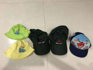 Children baby cap