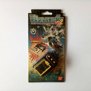Digimon Vpet Version 2 trans black BIB