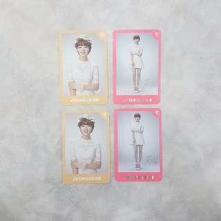 TWICE Jeongyeon Twiceland Encore Version C Photocard Set