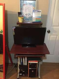 Desktop Computer Set with Comp Table