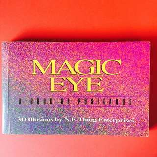 Rare Magic Eye -A Book of Postcards - 22 Pieces